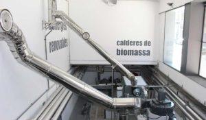Restauració sala d'energia renovable a Olot